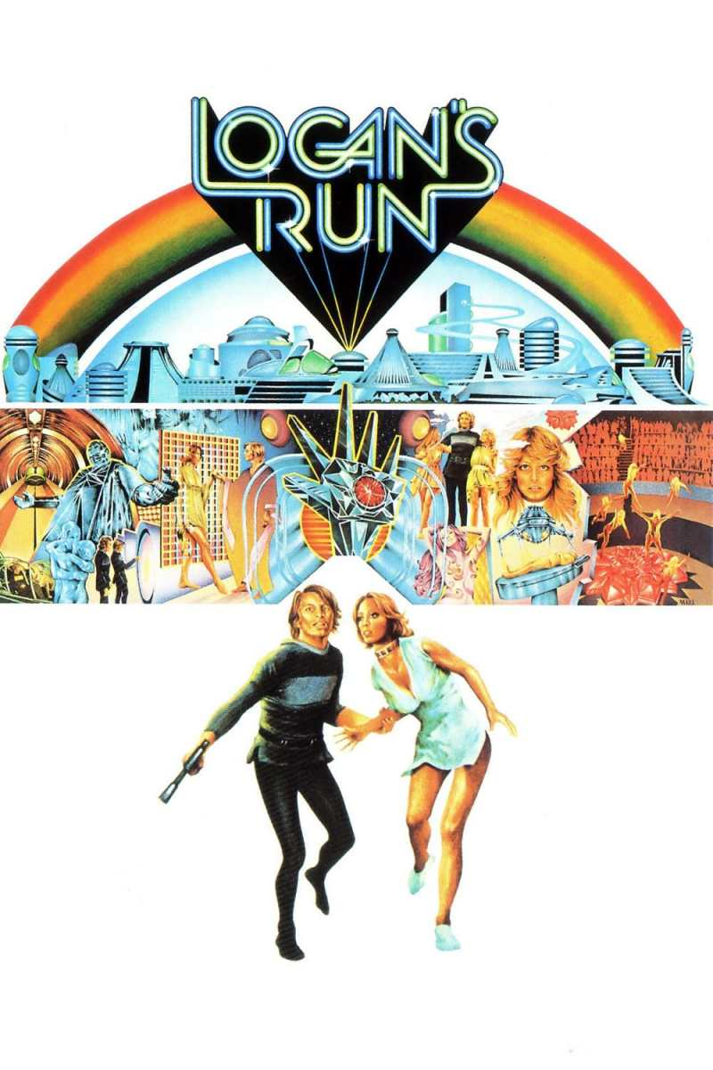 "Poster for the movie ""Logan's Run"""