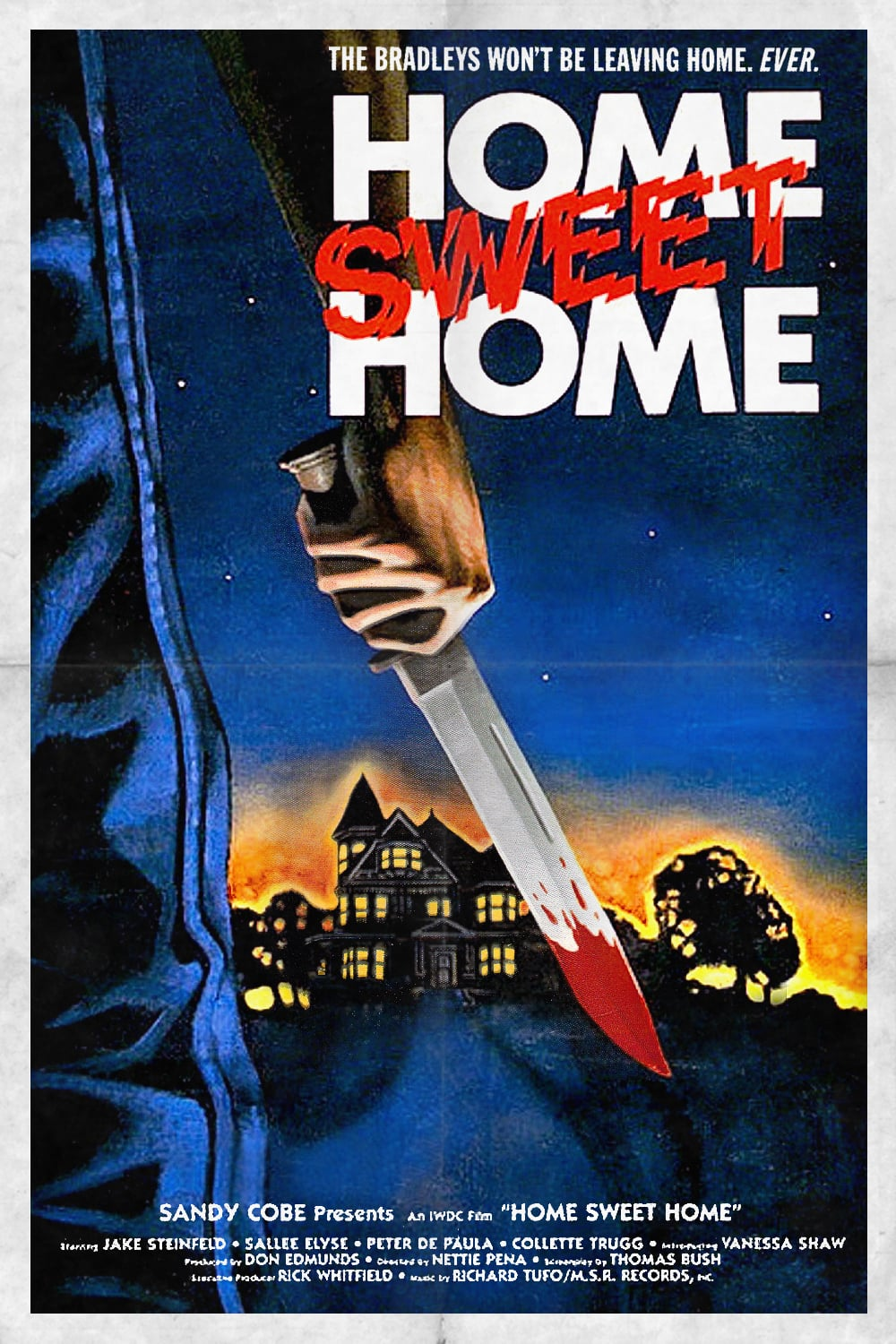 """Poster for the movie """"Home Sweet Home"""""""