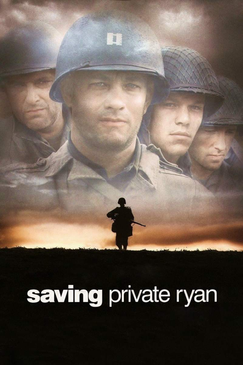 "Poster for the movie ""Saving Private Ryan"""