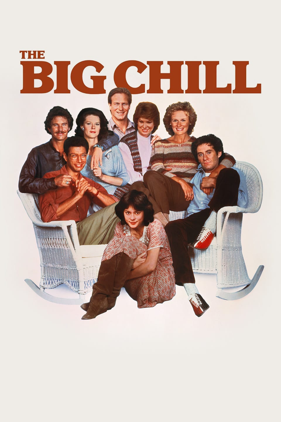 "Poster for the movie ""The Big Chill"""