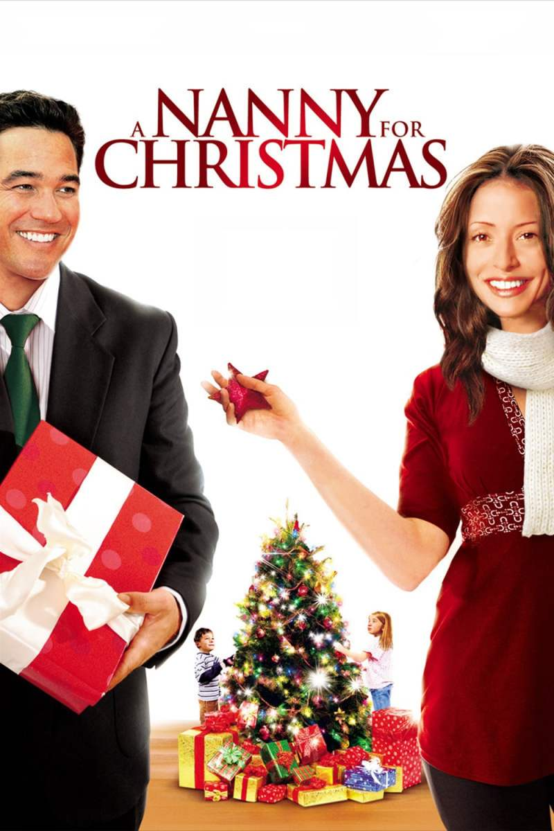 "Poster for the movie ""A Nanny for Christmas"""