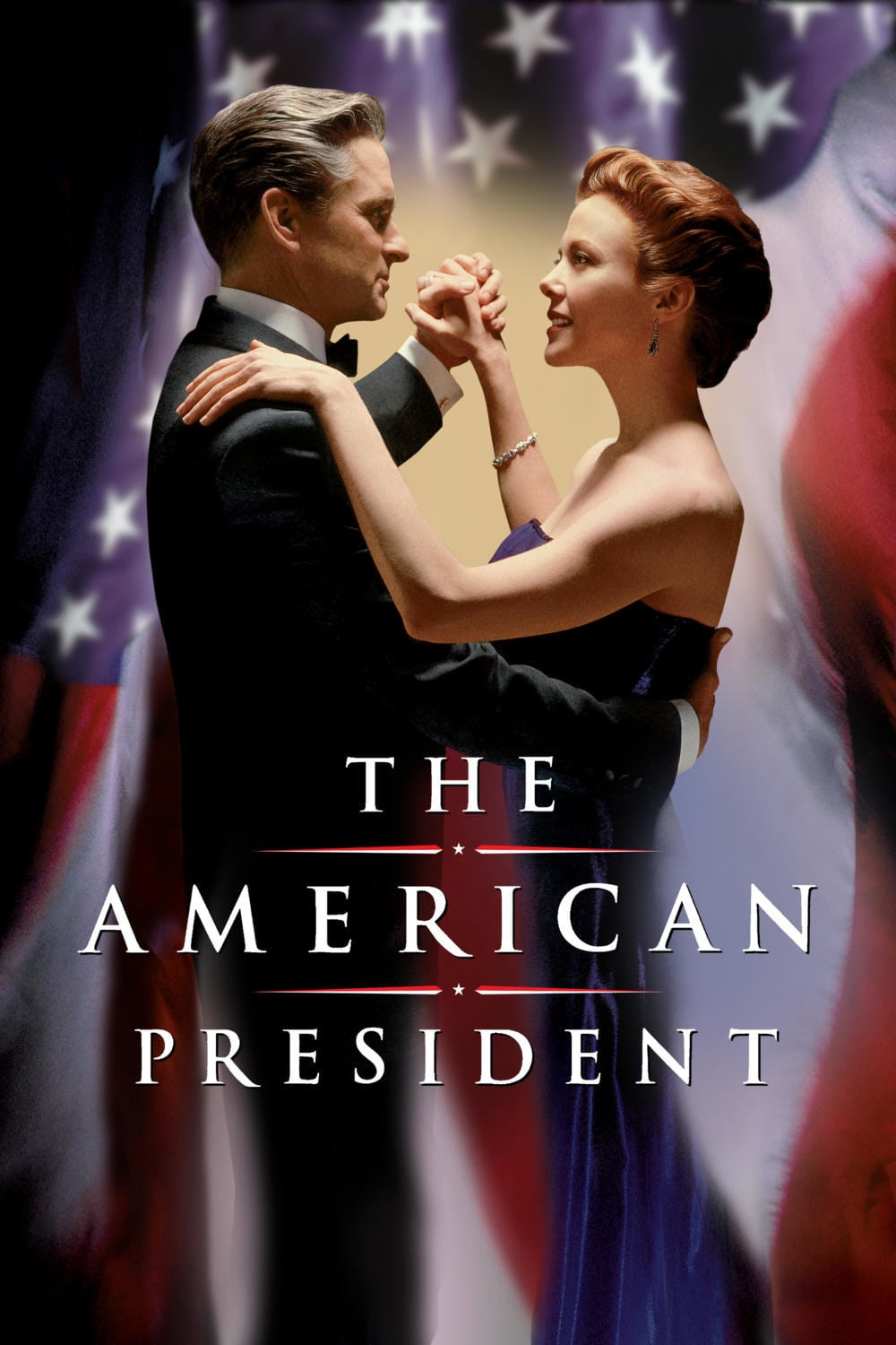 "Poster for the movie ""The American President"""
