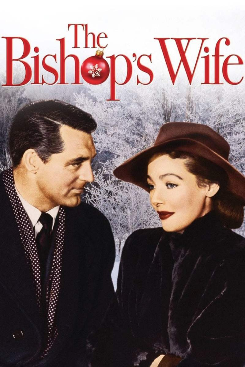 "Poster for the movie ""The Bishop's Wife"""