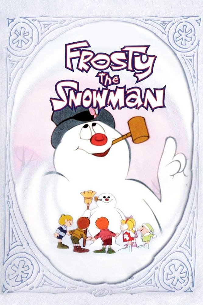 "Poster for the movie ""Frosty the Snowman"""
