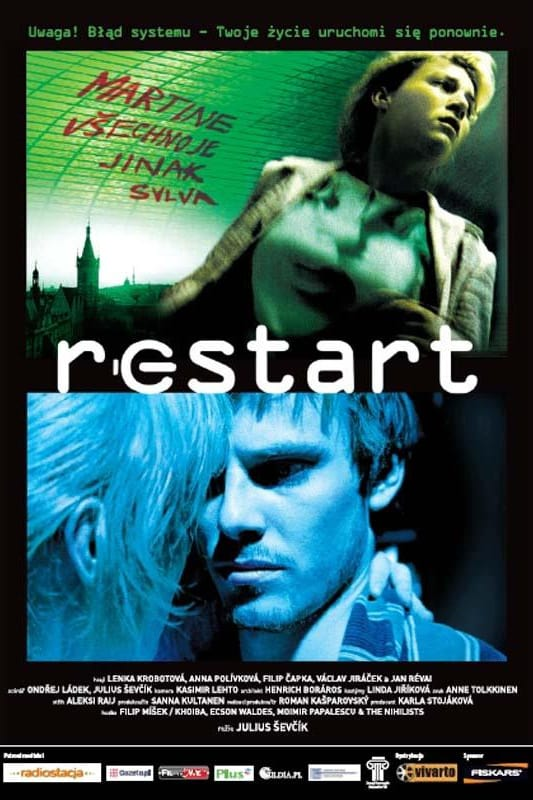 "Poster for the movie ""Restart"""