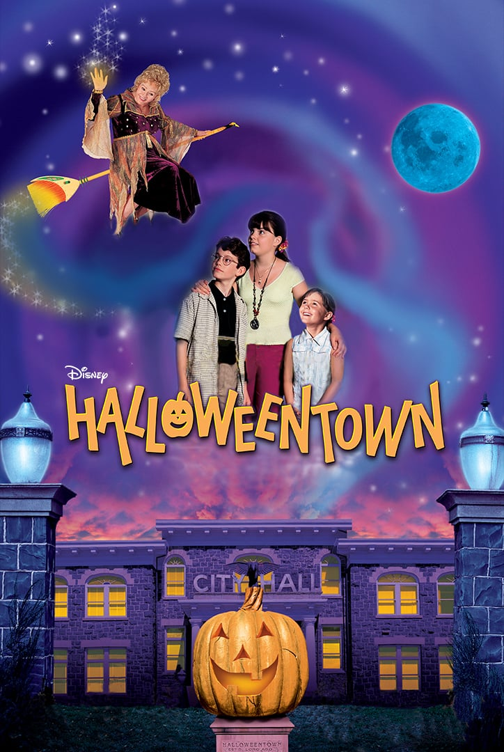 """Poster for the movie """"Halloweentown"""""""