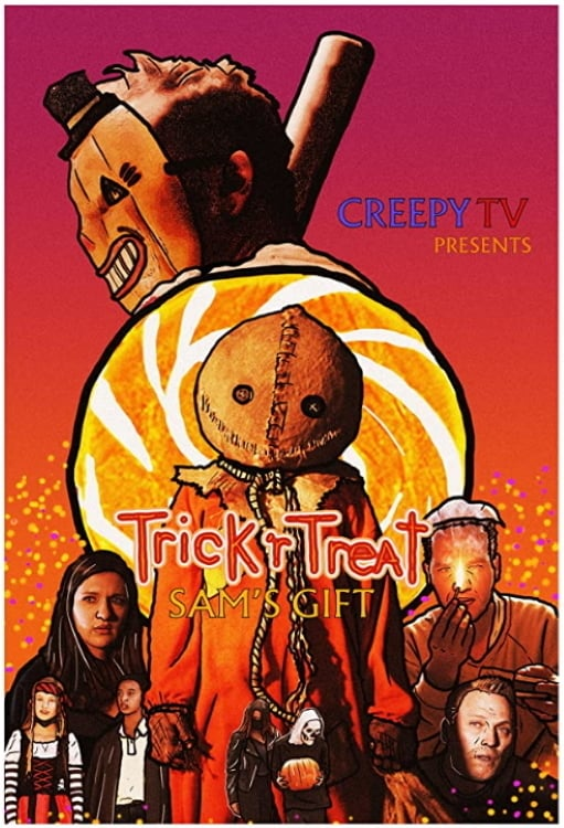 "Poster for the movie ""Trick 'r Treat: Sam's Gift"""