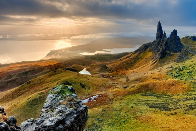 Enjoy The Scenic View Of Isle Of Skye