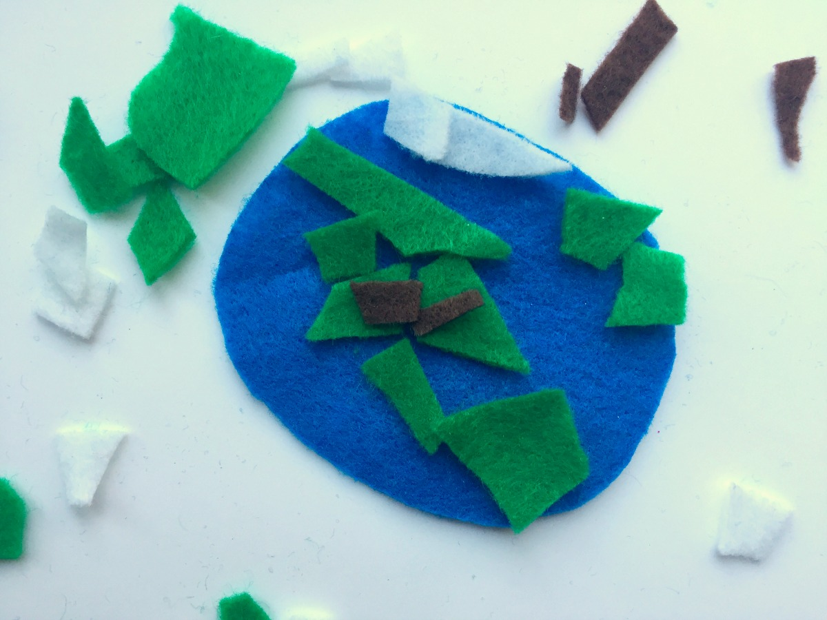 Earth Day Globe Craft For Preschoolers