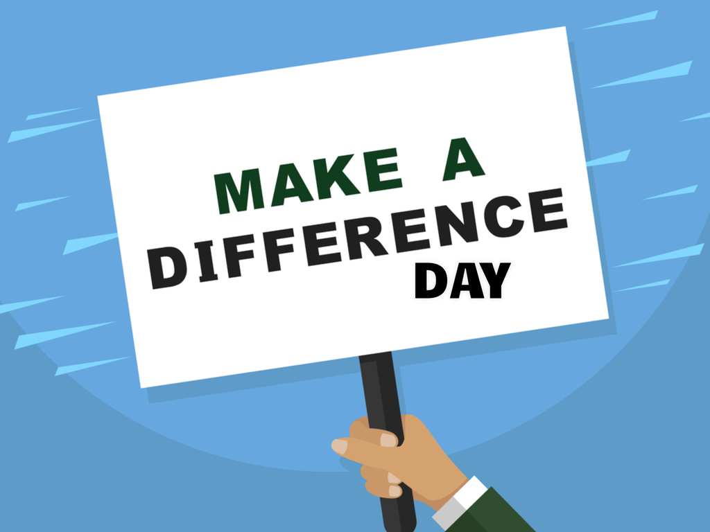 Make A Difference Day In