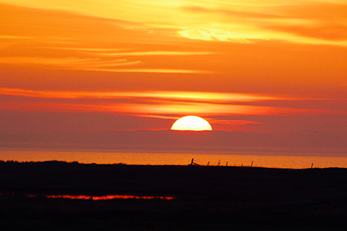 Sunset from Glenegedale House, Islay