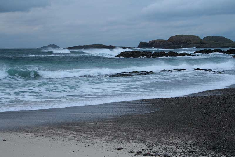 Stormy day, Camus Cul an Taibh, Iona