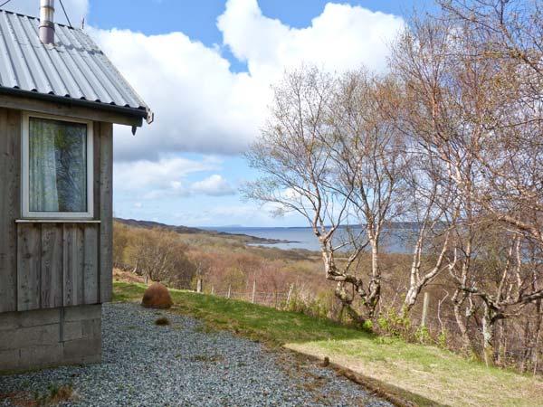 Thorsvik Broadford Skye Exterior with View