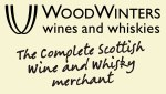 WoodWinters wines and whiskies logo