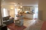 Little Aird Hill Badachro Gairloch lounge kitchen