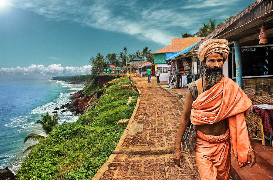 Best places to visit in India in October   Holidays in October Varkala visit in October best place  Best Places to Visit in India in  October