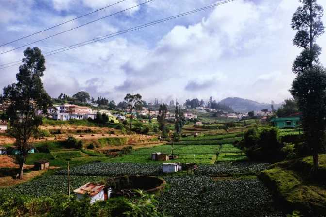Ooty, tourist places in South India