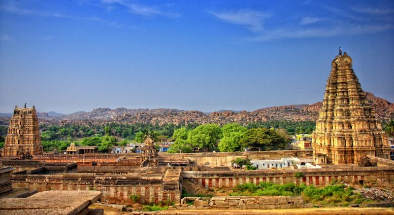 Virupaksha Temple, Hampi, Places to visit in November in India