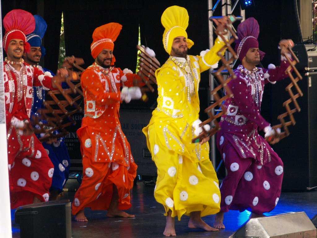bhangra,  Dances of India