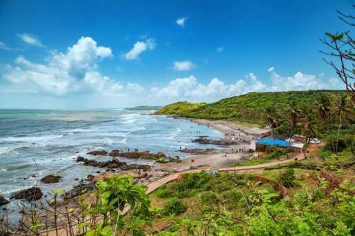 Anjuna Beach Goa - Shacks, Nightlife, Water Sports