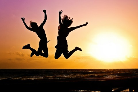 Get an attitude adjustment and jump for joy