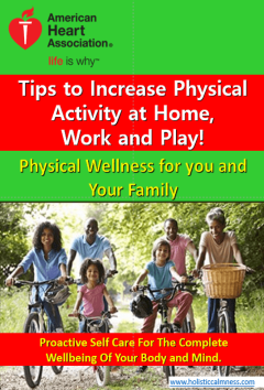 Heart Association physical exercise tips