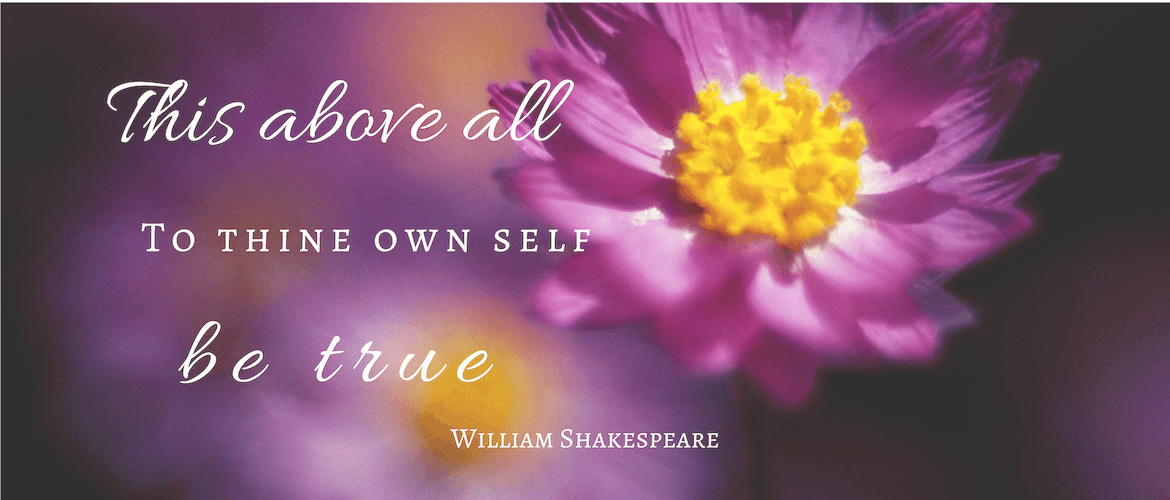 To thine own self be true quote