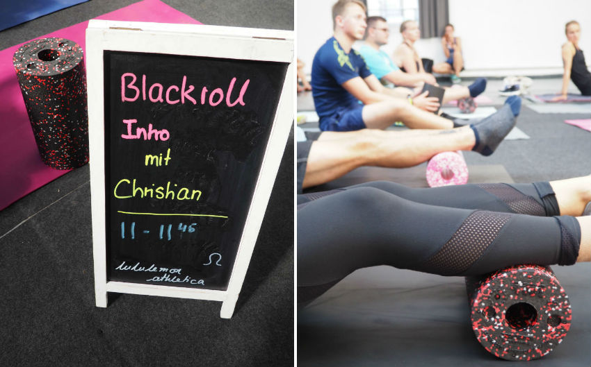 Urban Fit Days 2016 - Blackroll Intro Workshop