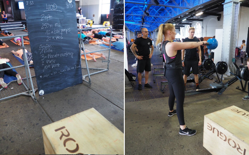 Urban Fit Days 2016 - CrossFit-Challenge