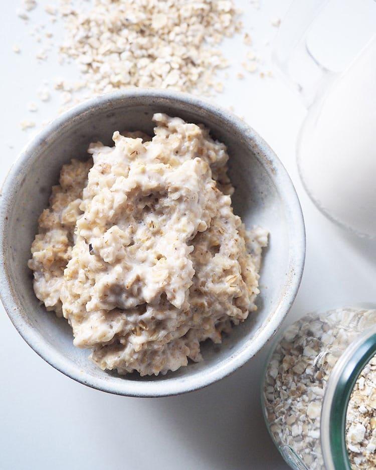 Haferbrei Grundrezept - Gesunder Frühstücksbrei