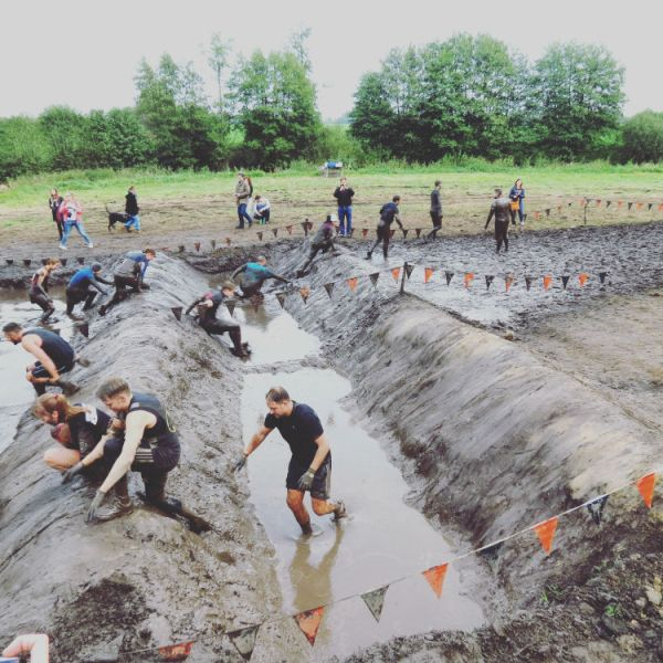 Hindernislauf Tough Mudder 2014