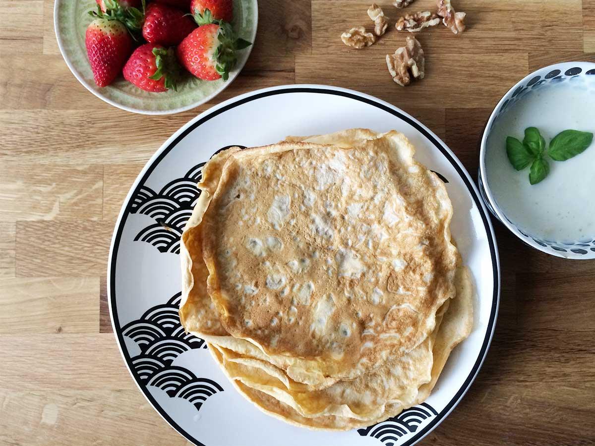 Protein-Crepes: Glutenfreies Fitness Frühstück