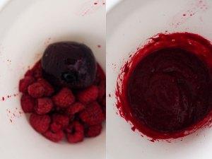 Fruchtpüree Himbeer Rote Bete
