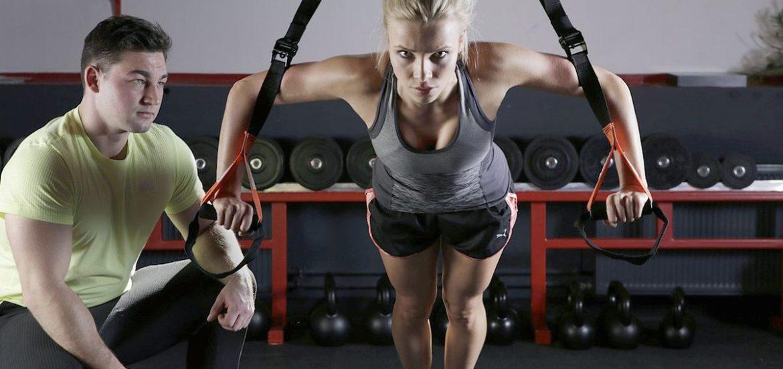 Functional Training mit Schlingentrainer