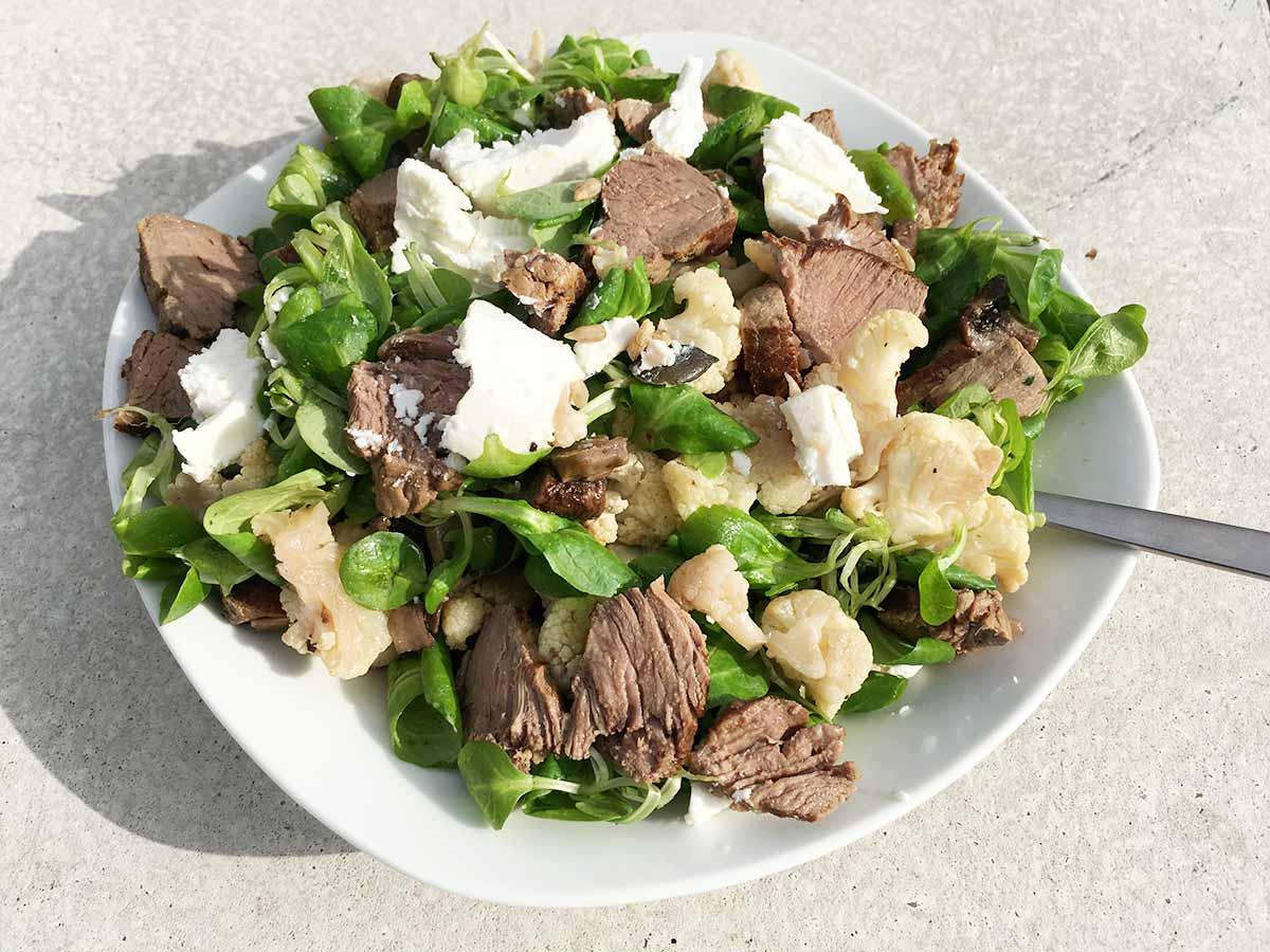 Gerösteter Blumenkohl-Salat Rezept