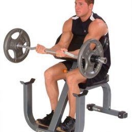 Seated Preacher Curl