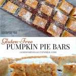 Gluten Free Pumpkin Pie Bars Alternative Mighty Recipes