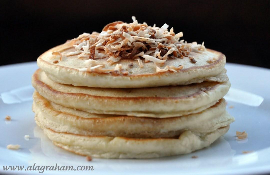 coconut pancakes Recipes