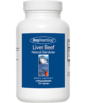 liver beef Glandulars