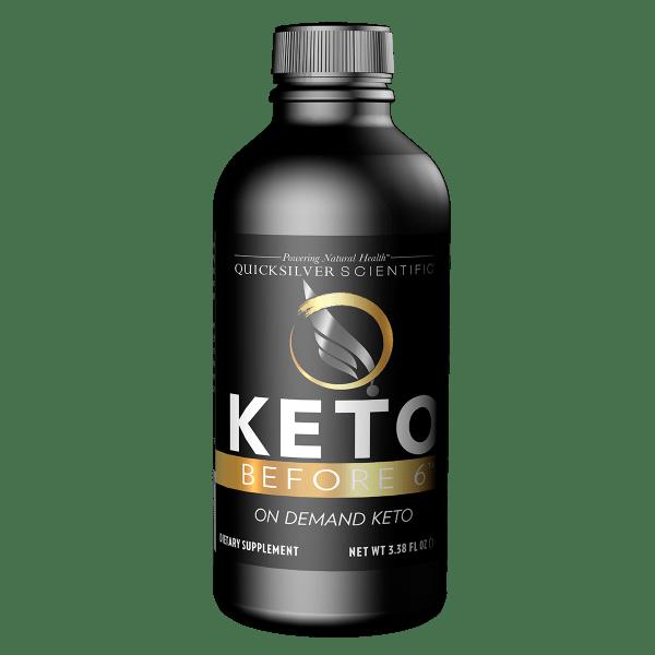 Keto Before 6 100ml Front Keto Before 6™ 100ml