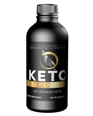 Keto Before 6 100ml Front Adrenal Stress Test