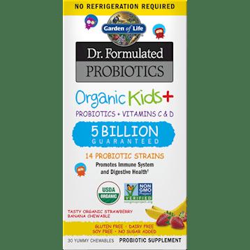 probiotic chews Organic Kids Probiotics Berry SS 30chews