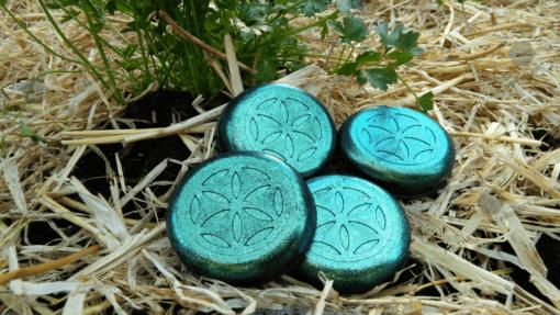 fourPucks coriander 720p Orgonite Urban Garden Set