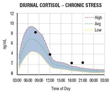 adrenal curve chronic stress Adrenal Stress Test