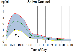 saliva cortisol 3 Adrenal Stress Test