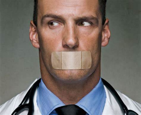 OIP Doctors are gagged as feds launch censorship campaign