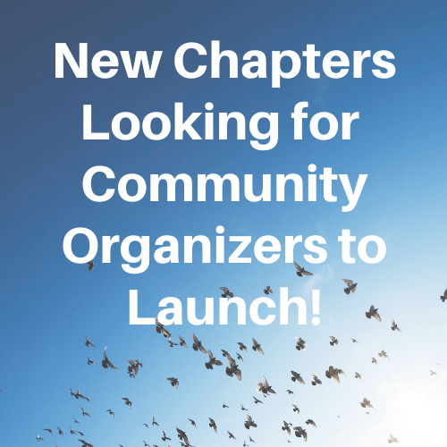 New Chapters Looking for Community Organizers
