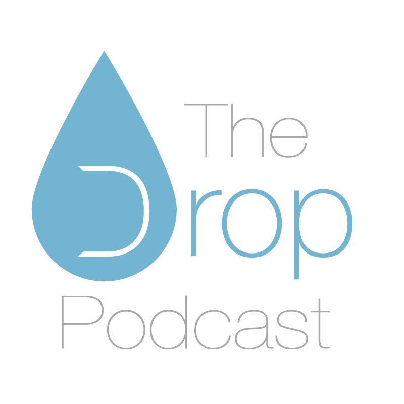 The Drop Podcast logo