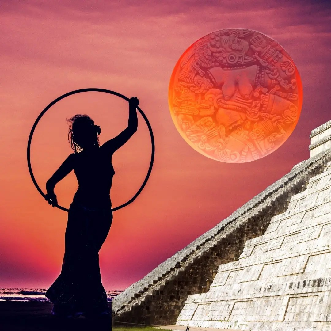Online Live Events: Transform Your Life! Mexica Moon Dream Ceremony