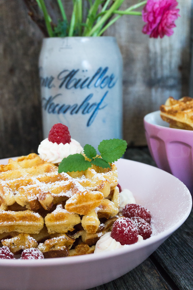 Cheesecake Waffeln Low Carb